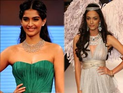 Photo : Diamonds are Sonam and Angela's best friends