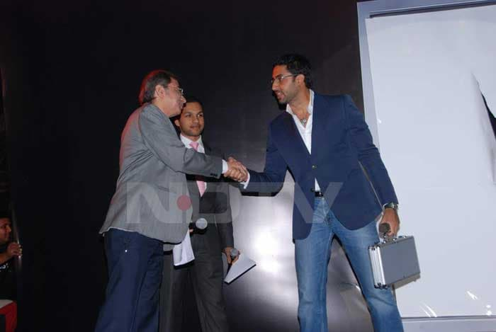 Abhishek at Product Launch