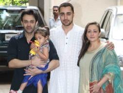Photo : Imran's Eid With Daughter Imara And Wife Avantika