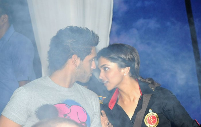 Deepika, Mallya Jr bond on the IPL pitch