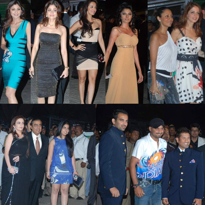 Stars at IPL  red carpet
