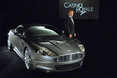 Bond's car is the sexiest