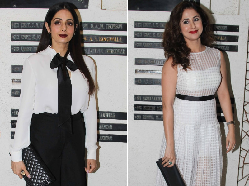 Sridevi, Urmila, Kalki Celebrated Javed Akhtar's Birthday