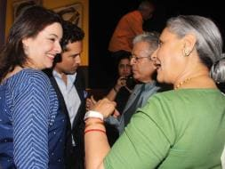 Photo : Big B, Jaya, Sachin, Anjali's Conversation Over the Pandeymonium