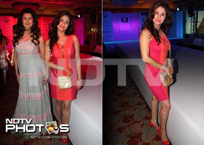 Urmila, Sangeeta in fashion front row