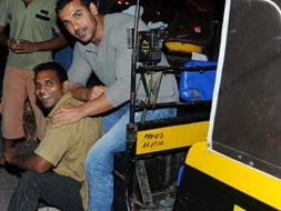 Photo : Meet John Abraham's friendly neighbourhood auto driver