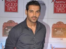 Photo : John Abraham, Racing ahead at 41