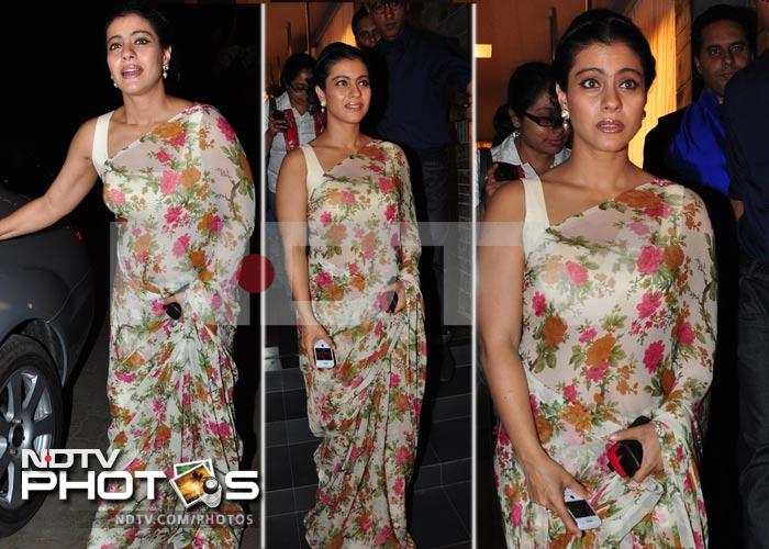 Kajol, Dia's fashionable outing