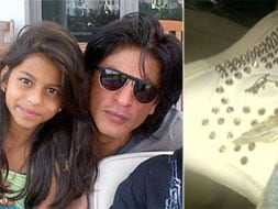 Photo : Suhana gives SRK a wardrobe update