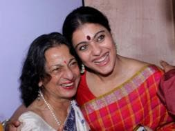 Photo : Kajol's Close-Knit Durga Ashtami With Tanuja, Ayan Mukerji
