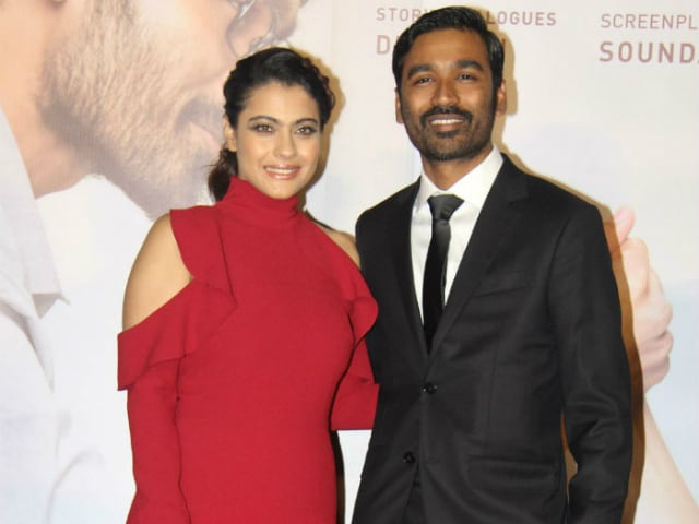 VIP Alert. Please Make Way For Kajol And Dhanush