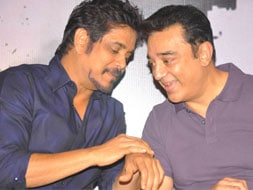 Photo : Brothers-in-arms: Kamal, Nagarjuna