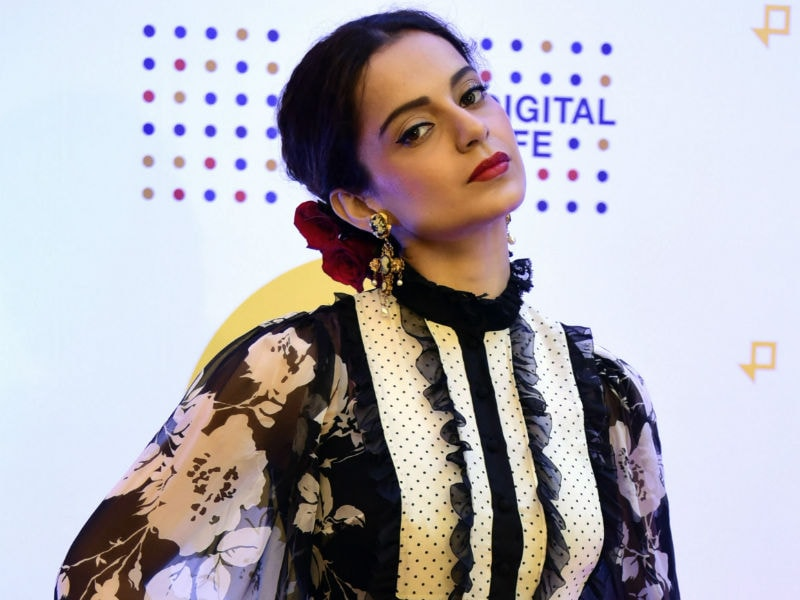 Kangana Ranaut, Glamorous And Bold, Rocks a D&G Look