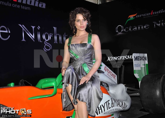 Kangana uses the Force, Poonam paints the town red