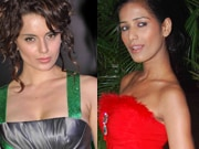 Photo : Kangana uses the Force, Poonam paints the town red