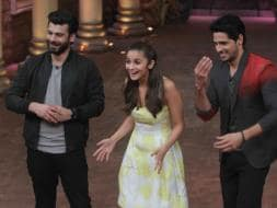 Photo : Alia, Sidharth, Fawad Get Busy With Kapoor And Sons