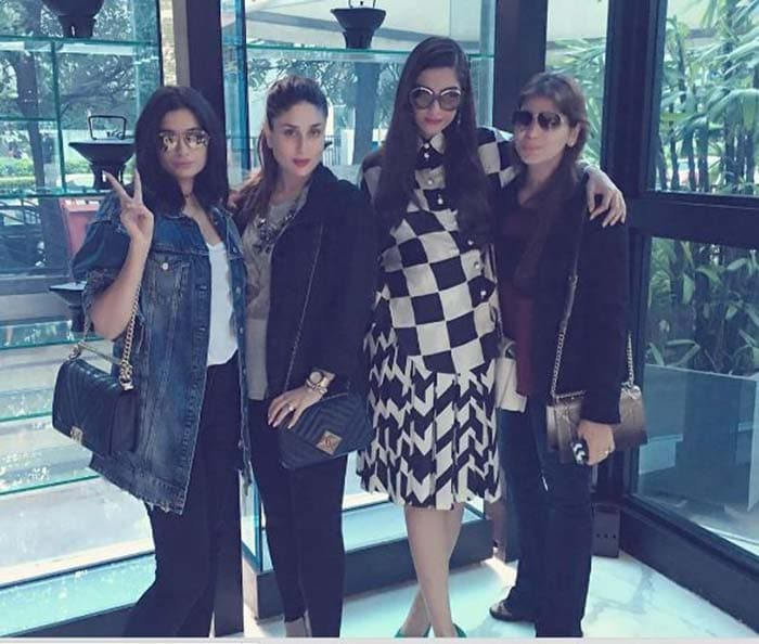 It was a family celebration for Kareena Kapoor