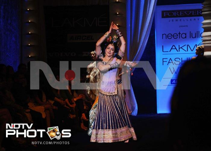 Fashion week: Hema Malini as Radha
