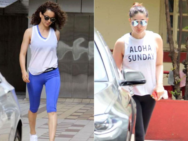 Kangana And Kareena Sweat It Out In Style