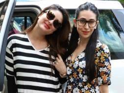 Photo : Kapoor Sisters Kareena, Karisma Set The Chic Quotient Soaring