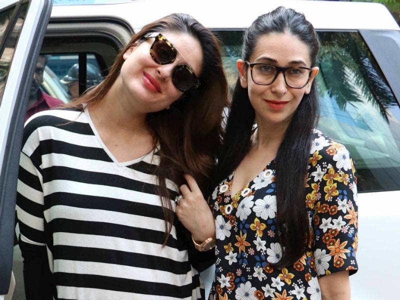 Kapoor Sisters Kareena, Karisma Set The Chic Quotient Soaring