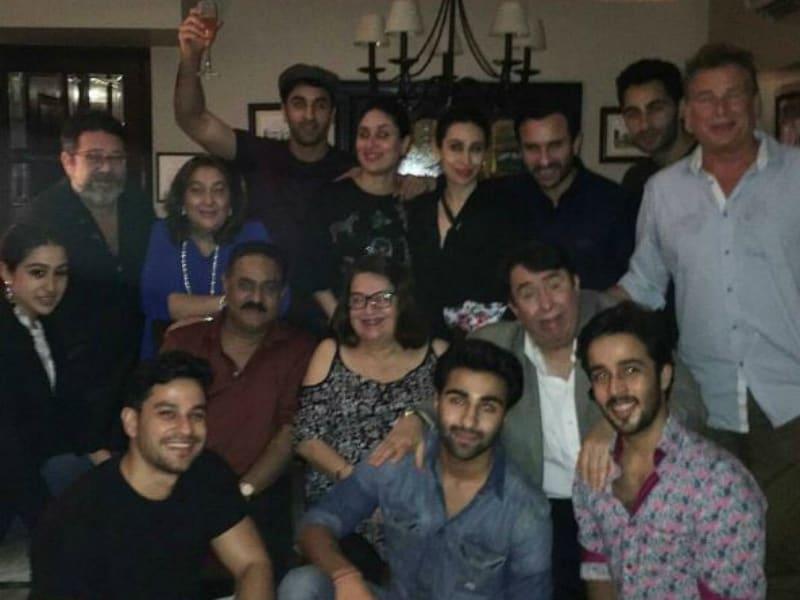 At Kareena's Birthday Party, A Rare Appearance By Karan Kapoor