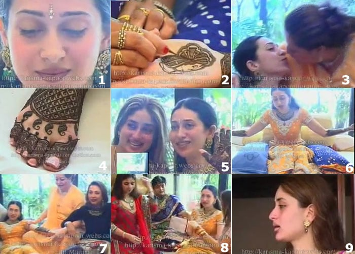 Mehndi Ceremony Wiki : Exclusive wikinewforum : leaked: karisma kapoors wedding pics with