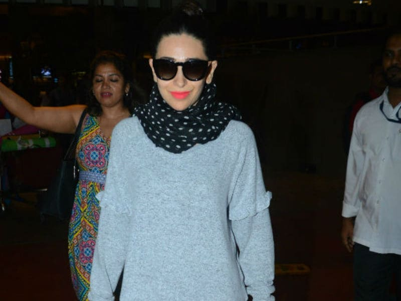A Kapoor Sister Spotted At The Airport