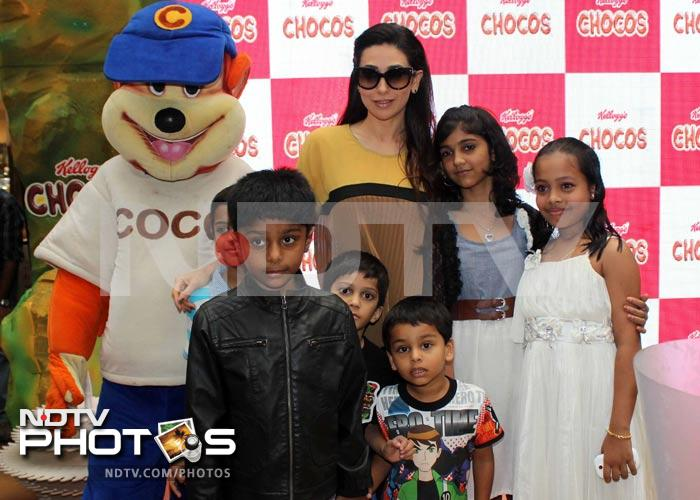 Karisma Kapur is a cereal charmer
