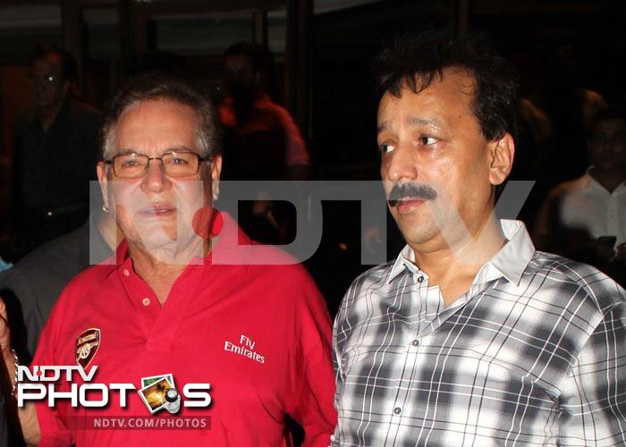 Salman Khan, Sanjay Dutt at iftar party