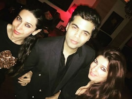 Karisma, Twinkle, KJo Put on Their Party Shoes