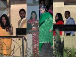 Photo : Moon Watching: Ash, Shweta & the Bachchans Celebrate Karva Chauth with Ambanis