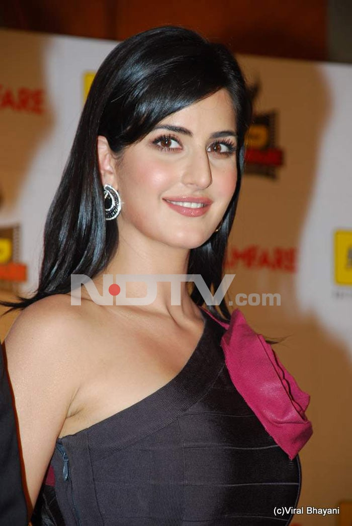 Katrina is happy doing a Salman!
