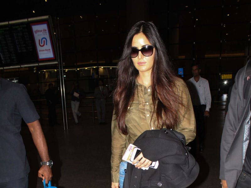 Katrina Kaif Spotted At The Airport In Her Casual Look