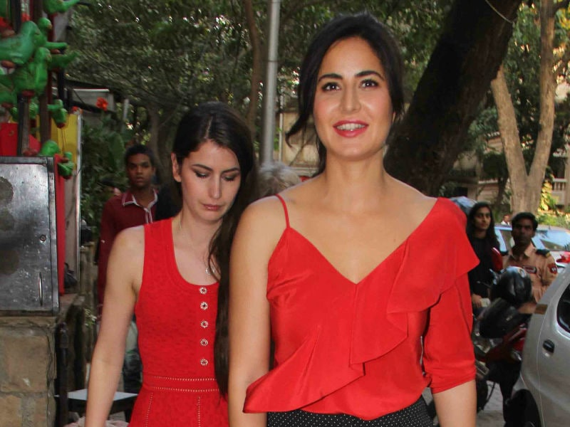 Katrina Kaif's Date With Sister Isabelle