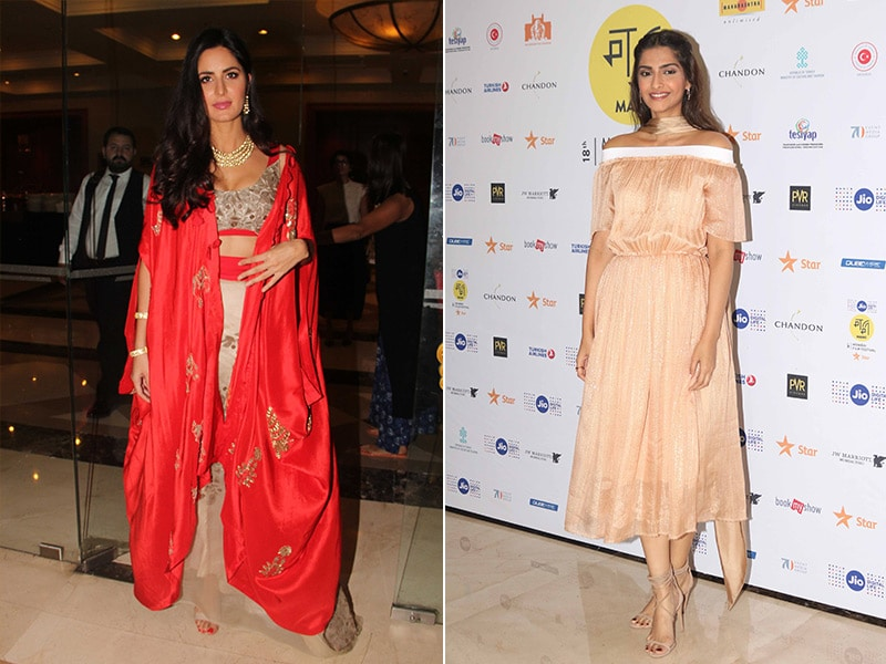It Is Worth It To See Katrina Kaif, Sonam Kapoor's MAMI Outing