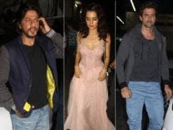 Photo : SRK's movie date with Krrish, Kaya
