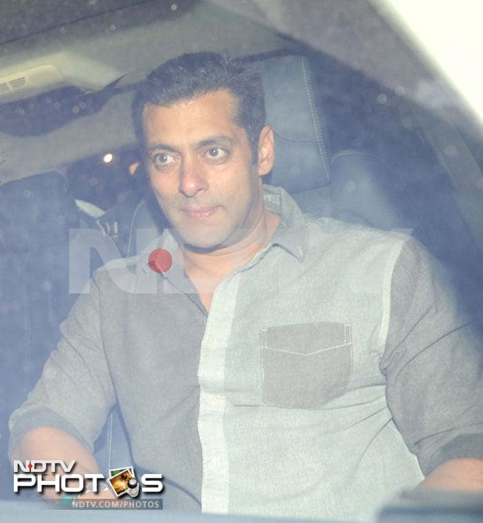 Katrina and Salman at Khan family bash