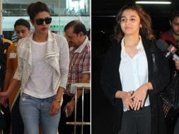 Photo : Airport Fashionistas: Priyanka Chopra, Alia Bhatt