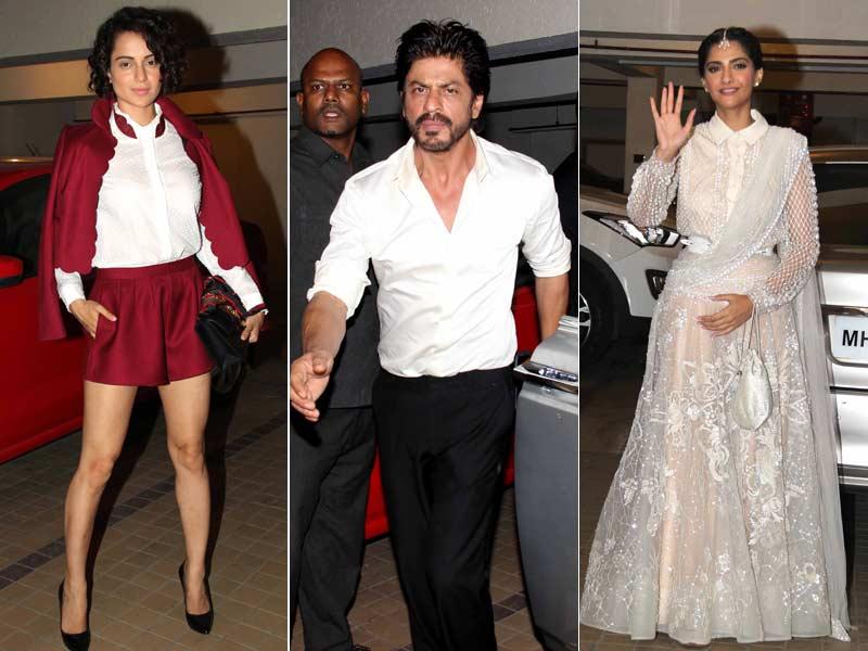 Abhi Toh Party Shuru Hui Hai With SRK, Sonam, Kangana