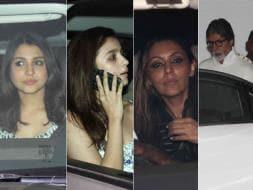 Photo : A Midsummer Night's Party: Anushka, Alia, Gauri, Big B