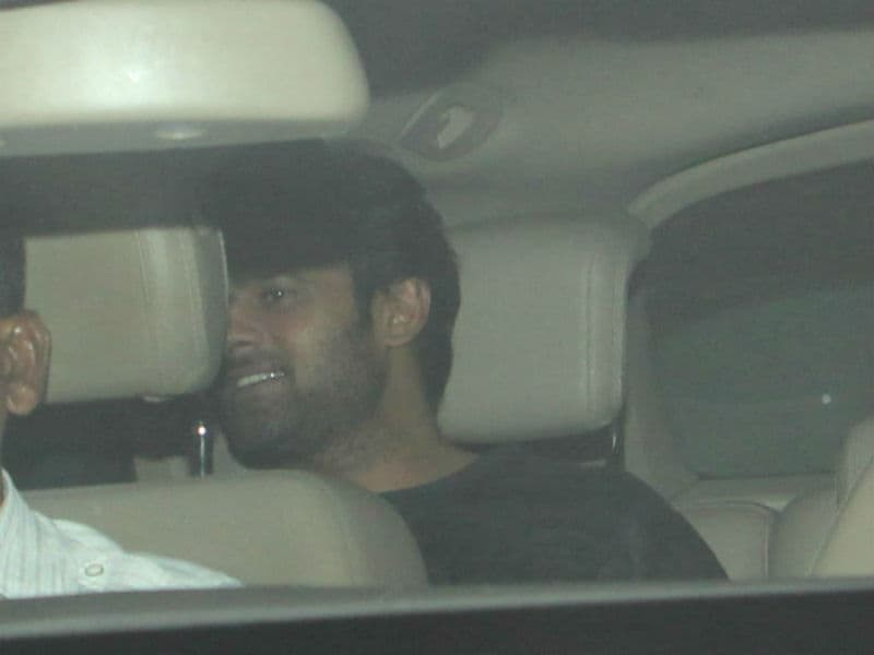 Baahubali's Prabhas And Rana Daggubati Party With Karan Johar