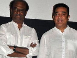 Photo : Superstar double whammy: Rajini, Kamal Haasan
