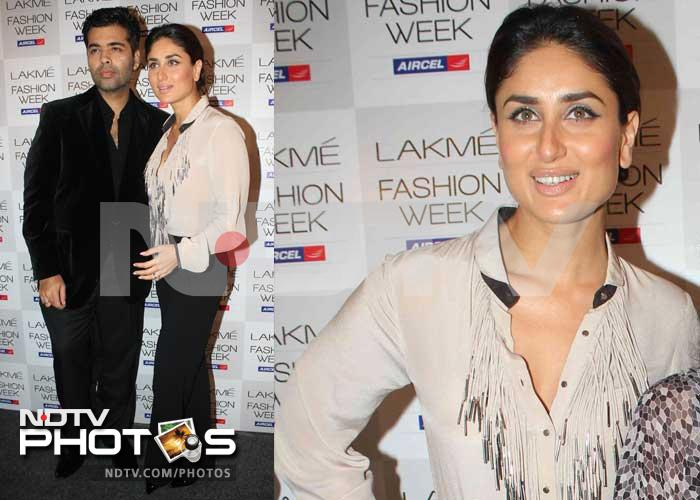 Kareena kickstarts Lakme Fashion Week