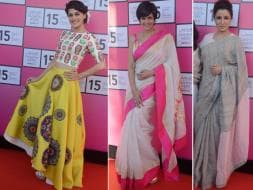 Photo : Lakme Fashion Week Preview Courtesy Taapsee, Mandira, Tisca