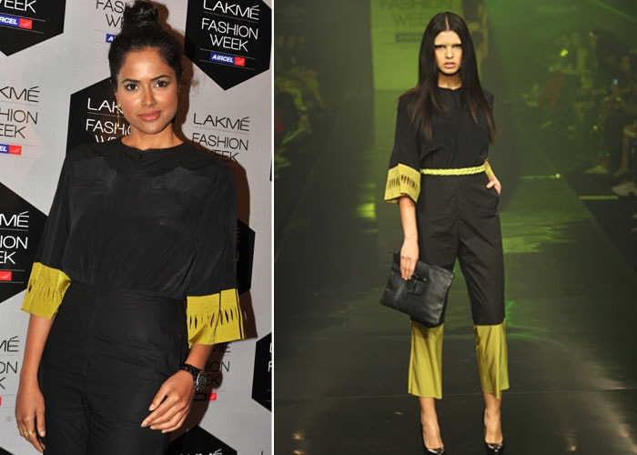 Sameera takes fashion from runway to real life