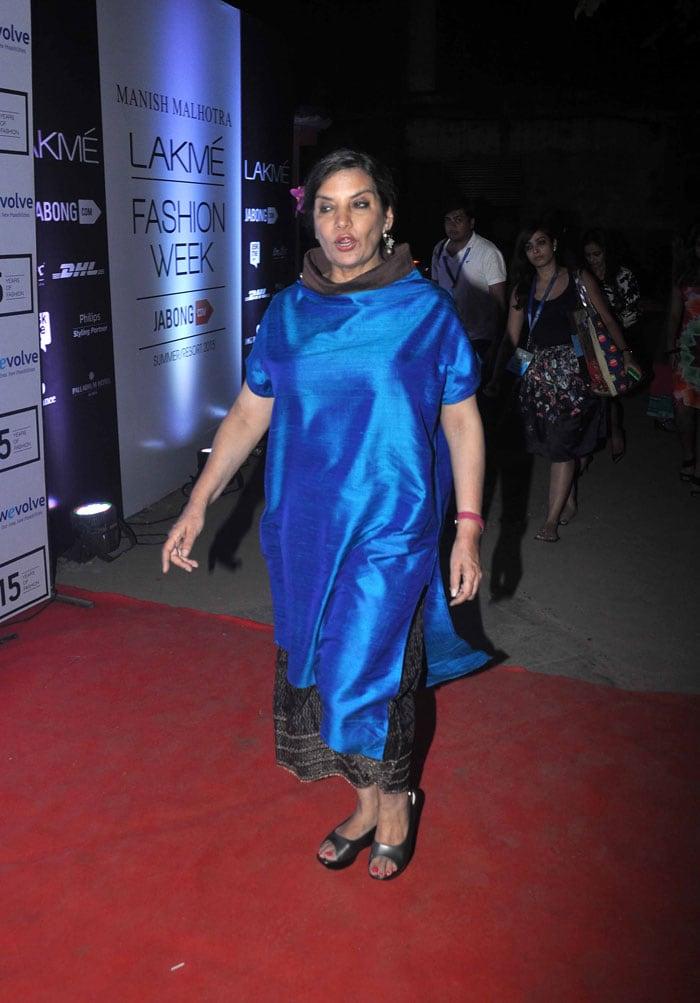 Manish Malhotra Had a Fashion Show. Here's Who Showed Up!