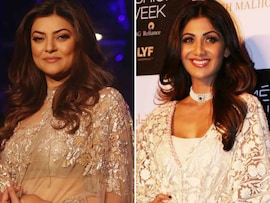 A Show-Stopping Night With Sushmita And Shilpa