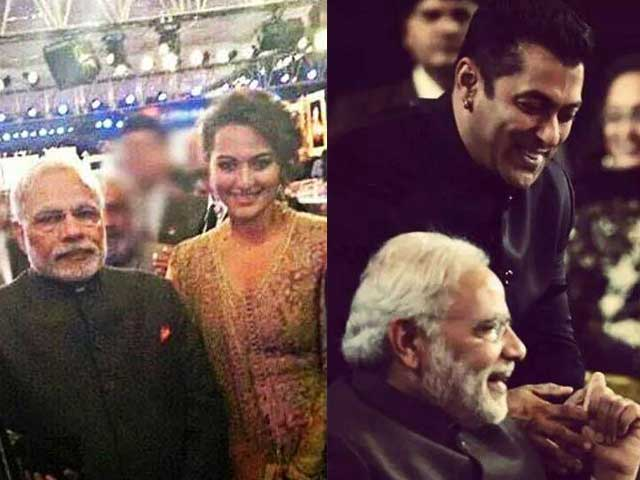 Everyone Wants a Picture With PM Modi