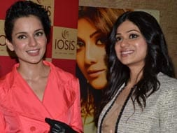 Photo : Spotted: Shamita Shetty, Kangana Ranaut at the launch of a spa
